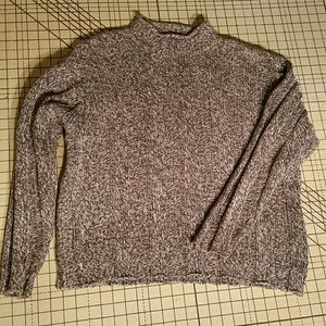 J. Crew Tweed Cotton Sweater. L